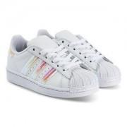 adidas Originals Superstar Sneakers Vit/Iridescent Barnskor 38 (UK 5)