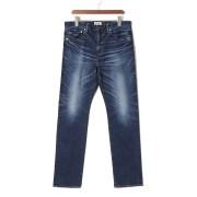 【33%OFF】スキニーデニム ブルー 34 ファッション > メンズウエア~~パンツ