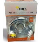 KIT 10X LAMPADA LED AR111 10W BQ 3000K INITIAL