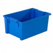 PROVOST Bac gerbable-emboîtable bleu 600 x 400 x 270 mm