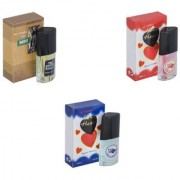 Skyedventures Set of 3 The Boss-Younge Heart Blue-Younge Heart Red Perfume