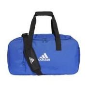adidas Sporttas Tiro Duffel Small - Blauw/Wit