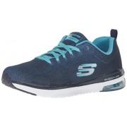 Skechers Sport Women s Skech Air Infinity Fashion Sneaker Navy/Light Blue 9.5 B(M) US