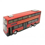 Diecast Cars Classic London Double Decker Bus Red