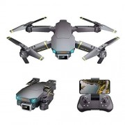 Global Dron DRON Plegable GD89 Pro con CMARA Angular 4K ELCTRICA HD 2 BATERIAS EXTERNAS Sensor Frontal DE OBSTCULOS