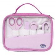 Chicco Happy Hands - Conjunto Higiene, Rosa