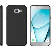 Zwart TPU Siliconen Telefoonhoesje Samsung Galaxy A3 2017
