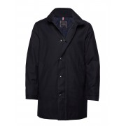 Tommy Hilfiger Tailored Tech Stand Up Collar Coat Tunn Jacka Blå Tommy Hilfiger Tailored