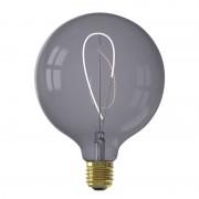 Calex Nora G125 Topaz Grey led lamp 4W 130lm 2200K Dimbaar - Grijs