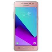 "Telefon Mobil Samsung Galaxy Grand Prime+ G532FD, Procesor Quad-Core 1.4GHz, PLS TFT Capacitive touchscreen 5"", 1.5GB RAM, 8GB Flash, 8MP, Wi-Fi, 4G, Dual Sim, Android (Roz) + Cartela SIM Orange PrePay, 6 euro credit, 6 GB internet 4G, 2,000 minute nation"