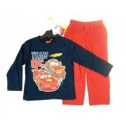 Pijama albastru cu rosu Cars 3-8ani