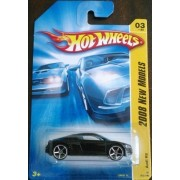 2008 Hot Wheels New Models Audi R8 Black With OH5SP Wheel Variant #003/196