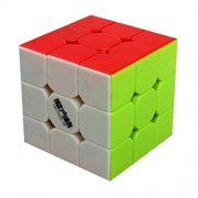 Kingcube QiYi Thunderclap 3x3 stickerless Magic cube 3x3x3 color speed cube puzzle
