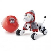 Spin Master Zoomer Exclusive Interactive Robot Puppy Dog with Red Hoodie & Ball Set