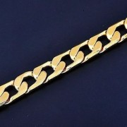 Rhodium Plated Nice Snack Chain For Men's/Women's With FREE Gift and 1 Year Re-plating Guarantee