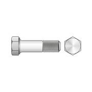 Surub Cap Hexagonal Partial Filetat 931 Inox A4-M18 X 120