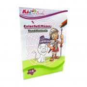 Labirintus készségfejlesztő füzet-Kiddo Books