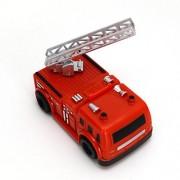 Magic Inductive Car Mini Inductive Truck Follow Black Line with Screwdriver (Red Fire Truck)