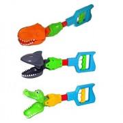 Unknown Kids Grabber Fine Motor Hand Eye Coordination Skills Toy Shark Alligator Claw or Dinosaur
