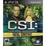 Ubisoft CSI: Fatal Conspiracy (PS3)