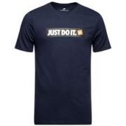 Nike T-shirt NSW HBR 1 - Navy/Wit