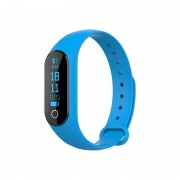 M2S Bratara inteligenta albastra- monitor de ritm cardiac pentru Android și IOS.