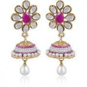 Sukkhi Elegant Gold Plated Kundan Jhumki Earring For Women