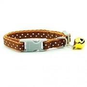 XUXIN Zhaochen Collar De Perro Pequeño Collar Del Animal Doméstico Del Gato Ajustable Con El Collar Del Perrito De Bell For El Gato For Mascotas Perros Pequeños Artículos For Mascotas Accesorios Collar de p