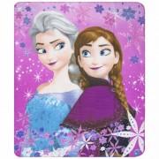 Fleece kleedje Frozen Anna en Elsa voor meisjes