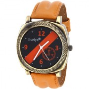 Evelyn Quartz Analog Blue Round Dial Men's Watch EVE-543