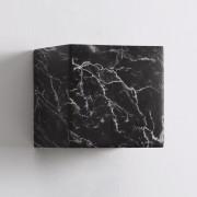 Kosiluz Lámpara de pared de cemento y marmól negro - Atlas