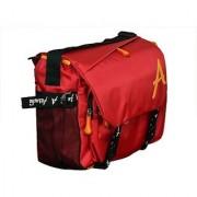 Attache 15 inch Laptop Messenger Bag (Red 203)