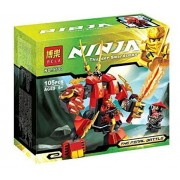 Kais Fire Mech Building Bricks Minifigures Compatible With Lego