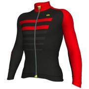 Alé Piuma Jersey - Black/Red - M - Black/Red