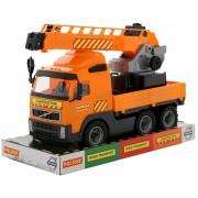 Jucarie camion cu macara Volvo PowerTruck Wader