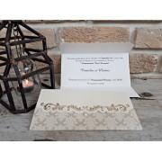 Invitatie nunta eleganta cod 2716