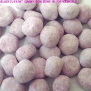 Kingsway Blackcurrant Chewy Bonbons Sweets