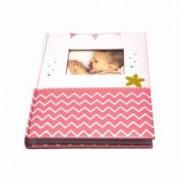 Album foto Star Fish format foto 10x15 coperta cartonata 100 fotografii roz