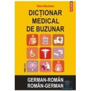 Dictionar medical de buzunar German-Roman Roman-German ed.2 - Hans Neumann