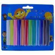 Plastilina Colorata pentru Copii, 12 Culori/Set - Materiale Modelare