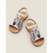 Mini Sandales de vacances WHT Fille Boden, White - 29