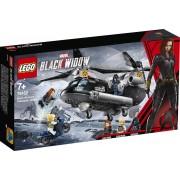 LEGO Marvel Super Heroes Black Widow's helikopterachtervolging - 76162