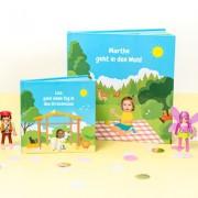 smartphoto Grosses Lesebuch Ausflug für Mädchen - Ausflug zum Streichelzoo