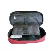 Penar borseta 1 fermoar oval Faber Castell Grip rosu 573022