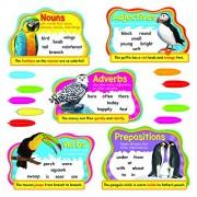 Trend Enterprises Parts of Speech Bulletin Board Set (28 Piece)
