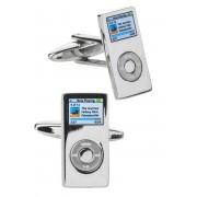 Manchetknopen zilver - MP3 speler