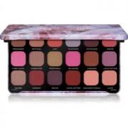 Makeup Revolution Forever Flawless paleta de sombras tom Unconditional Love 18 x 1,1 g