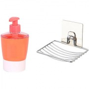 Buy 1pc of Liquid Soap Dispenser and Get 1pc of Suction Soap Dish Free!!