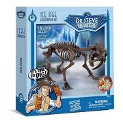 Geo World Ice Age Excavation Kit Smirodon ?Scientific Handicraft Introduction Toy Model? Geoworld Ice Age Excavation Kit Smilodon Skeleton Genuine