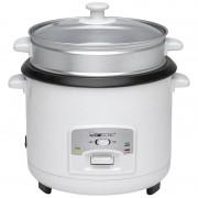 Clatronic RK 3566 - Arrocera, capacidad 3 litros para 2,5 kg arroz hervido, 700 W, color blanco